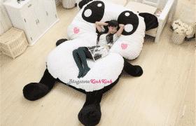 dụng nệm thú bông hình Panda chính là việc cách li sản phẩm với nước và lửa