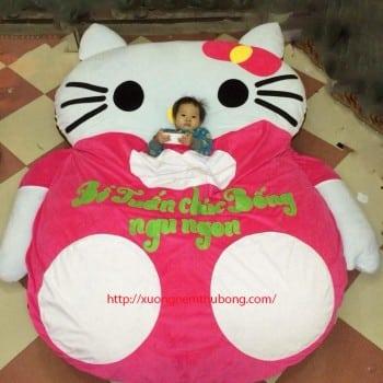 Nệm thú bông Hello Kitty trẻ em cao cấp giá rẻ hà nội