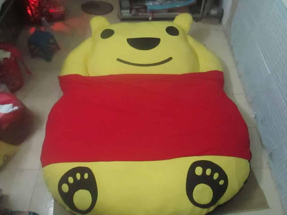Nệm thú bông hình gấu Pooh (trẻ em) giá rẻ