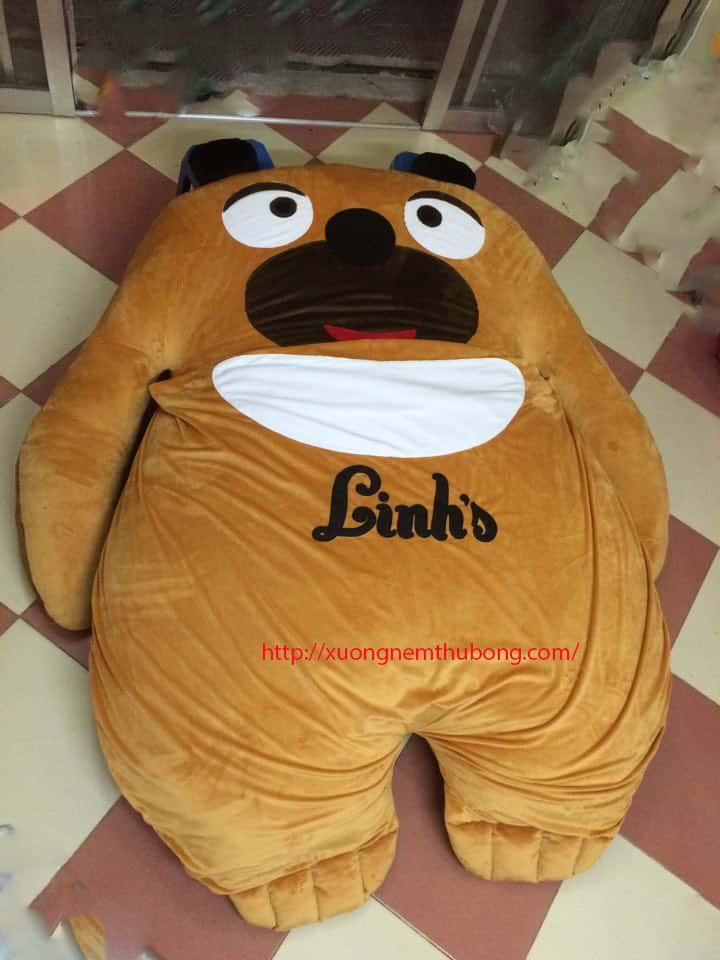 Nệm thú bông hình gấu Bear là sản phẩm tiện dụng phù hợp với những gia đình