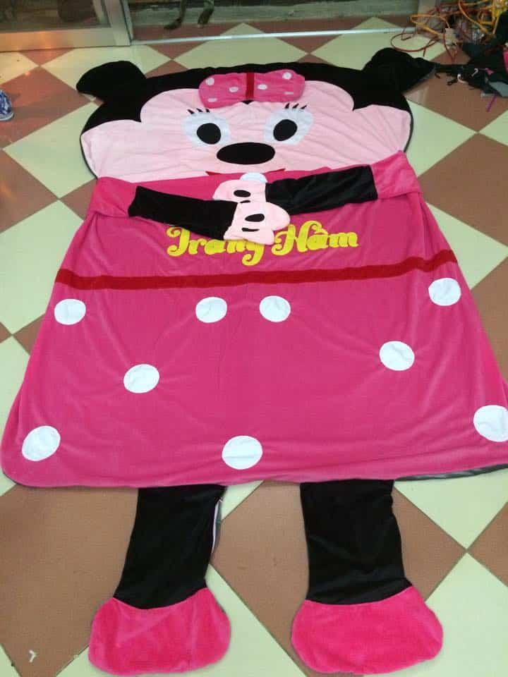 Nệm thú bông hình chuột Mickey