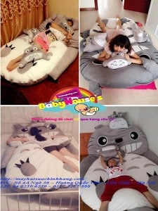 giường gấu bông cao cấp giá rẻ giao hàng toàn quốc