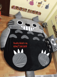 nệm hình thú Totoro ruột cao su -1