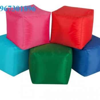 Ghế lười hạt xốp hình vuông size S -1