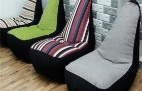 ghế lười hạt xốp dáng sofa đơn (2)