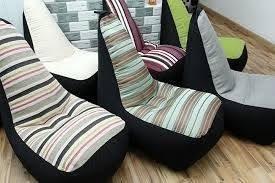 ghế lười hạt xốp dáng sofa đơn (4)