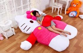 nệm thú bông hình Hello kitty vai nhung HQ-2
