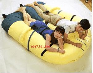 giường gấu bông hình minion