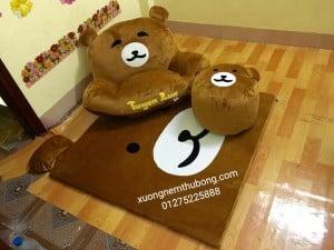 bộ ghế lười thú bông hình gấu Bear 3