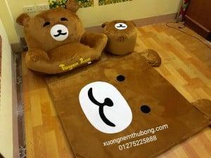 bộ ghế lười thú bông hình gấu Bear 4