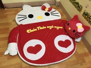 Nệm thú bông hình mèo Hello Kitty
