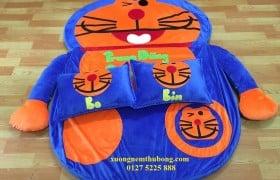 Nệm thú bông Doraemon ruột cao su non