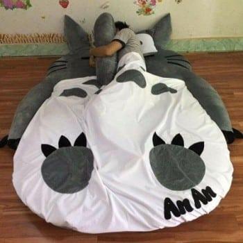 Nệm thú bông Totoro xám NTB 202 (3)