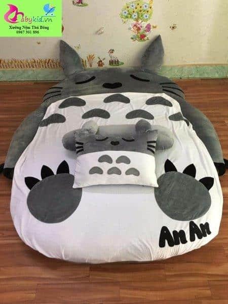Nệm thú bông Totoro xám NTB 202 (4)
