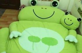 Nệm thú nhồi bông chú ếch xanh NTB 101 (5)