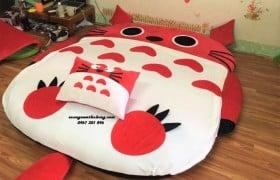 Đệm thú bông cao cấp Totoro đỏ NTB029 (1)