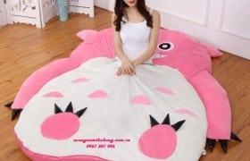 Nệm hình thú bông Totoro hồng NTB057 (4)