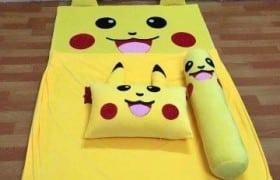 Nệm hình thú cao su non 3cm hình Pikachu (2)