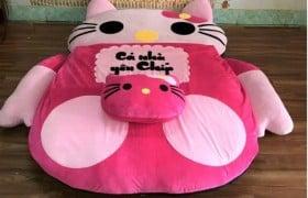 Nệm thú nhồi bông hình Hello Kitty (1)